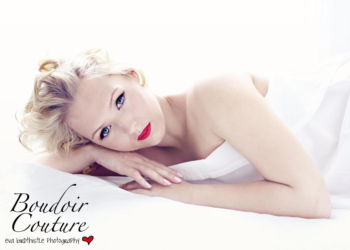 White Sheet Boudoir Couture